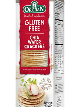 Chia Wafer Crackers 100g