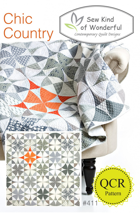 Chic Country Quilt Pattern from Sew Kind of Wonderful