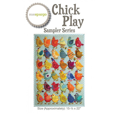 Chick Play Sampler Series by Sue Spargo