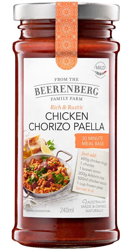 Chicken Chorizo Paella 30 Minute Meal Base - 240ml