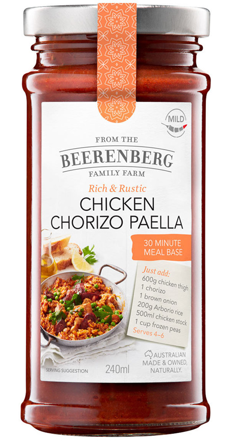 Chicken Chorizo Paella 30 Minute Meal Base - 240ml