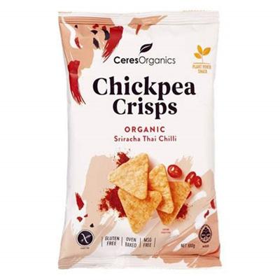 Chickpea Crisps Organic - 2 flavours