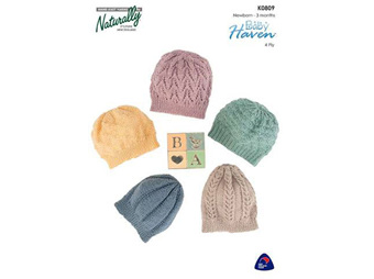 Child 4PLY Hat/booties Patterns
