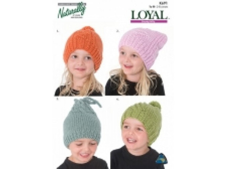 Child 8PLY Hat/booties Patterns