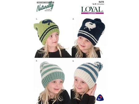 Child Hat 12PLY Pattern