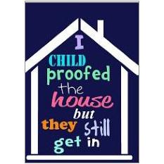 Child Proofed Fridge Magnet