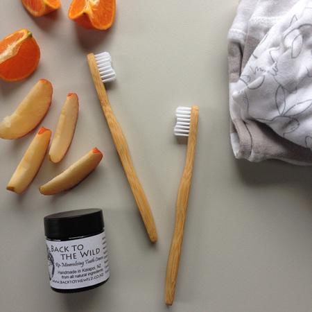 Childrens Bamboo Toothbrush
