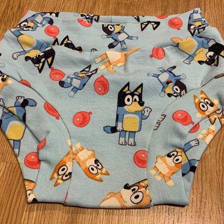 Childrens Underwear - Bluey - Size 2