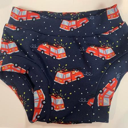 Childrens Underwear - Fire Engines - Size 3