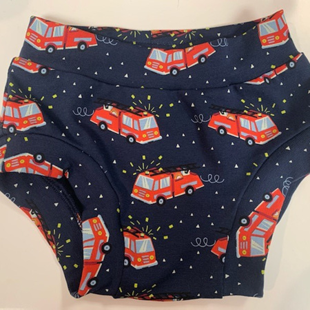 Childrens Underwear - Fire Engines - Size 4