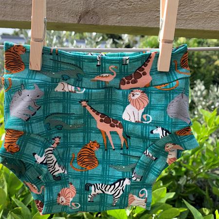 Childrens Underwear - Safari - Size 3