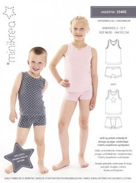 Childrens underwear size 2 - 12 years