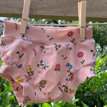Childrens Underwear - Wildflowers - Size 2