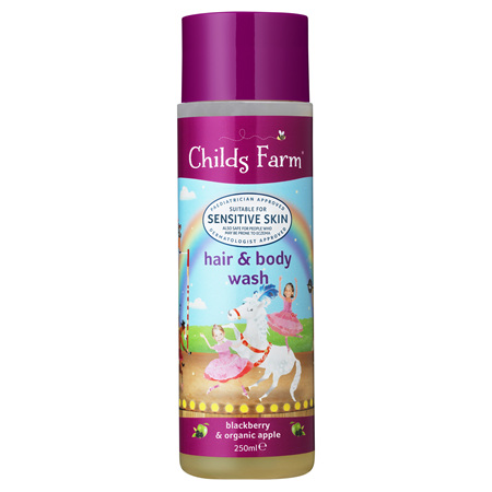 Childs Farm - Hair & Body Wash Blackberry & Organic Apple