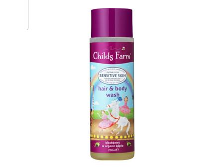 CHILDS FARM Hair&Body B/Ber&App 250ml