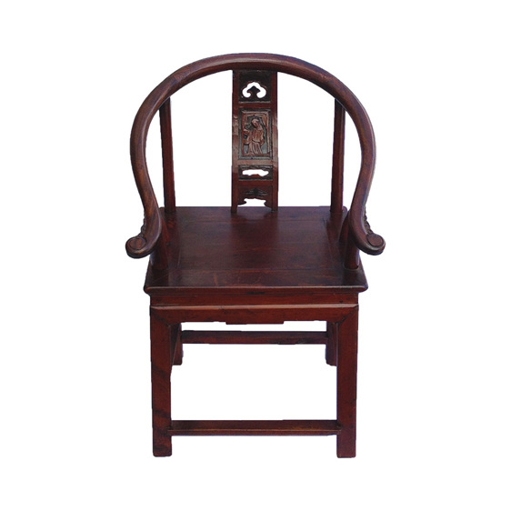 Chinese Horseshoe Chair | Chinese Antique Furniture | Lotus Antiques - Chinese Antiques Chinese Horseshoe Chair Chinese Furniture