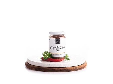 Chipotle And Lime Salt Jar 250gm