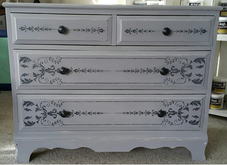 Chivalry Grey Chest of Drawers