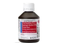 CHLORHEXIDINE 2% in ALCHL 70% RED 100ML
