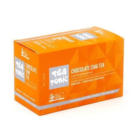 CHOCOLATE CHAI TEA 20 BAGS