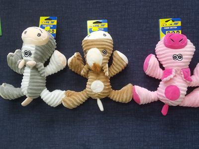 Chomper Farm Critter Soft Toys