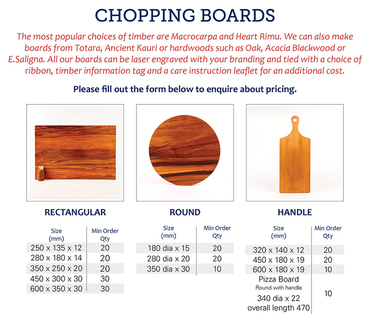 Chopping boards - Wholesale Volume Orders
