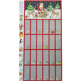 Christmas Advent Calendar Panel 801301