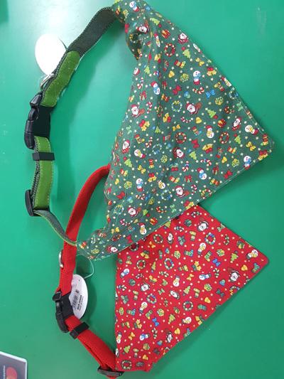 Christmas Bandana Collars