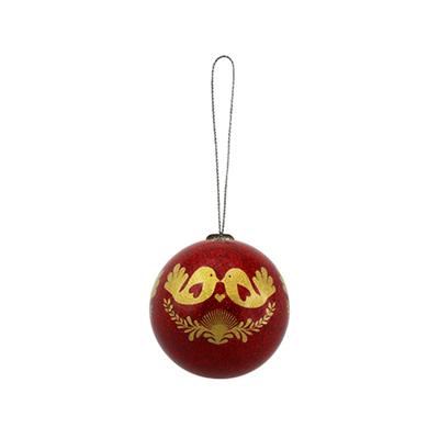Christmas Bauble Decoration - Fantail Love