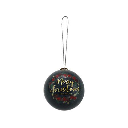 Christmas Bauble Decoration - Pohutukawa
