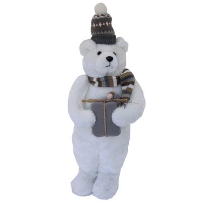 Christmas bear standing - 43cm