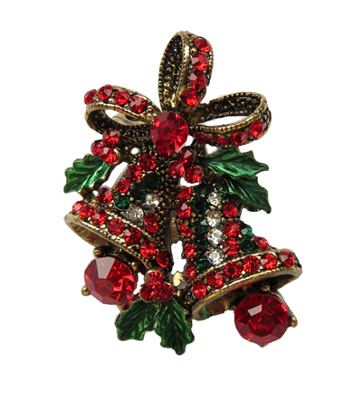 Christmas Bells Brooch
