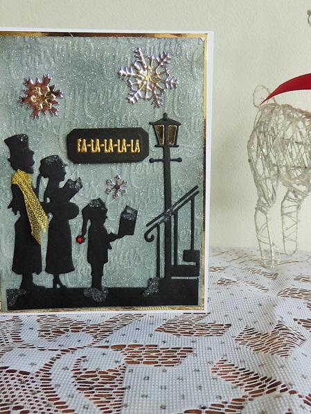 Christmas Carollers Card