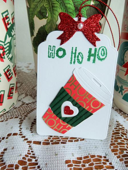 Christmas Coffee Gift Tags