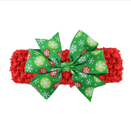 Christmas Crochet Headband