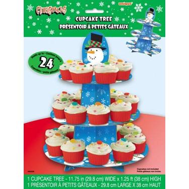 Christmas cupcake tree - holds up to 24 cupcakes