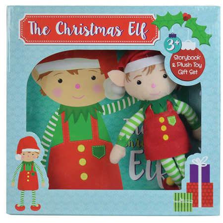 Christmas Elf with storybook
