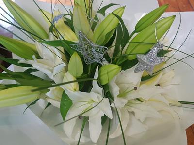 White Lily Christmas