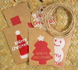 Christmas Gift Tags x 5