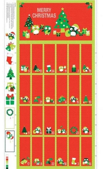 Christmas Hoots Panel