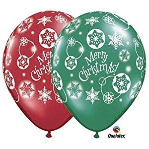 Christmas latex balloon 10 for $8!