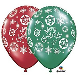 Christmas latex balloon 10 for $8!