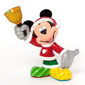 Christmas Mickey with a bell!