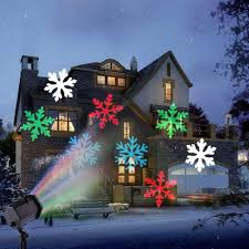 Christmas Moving Projector Light 12 Patterns Plug-in Card Lamp