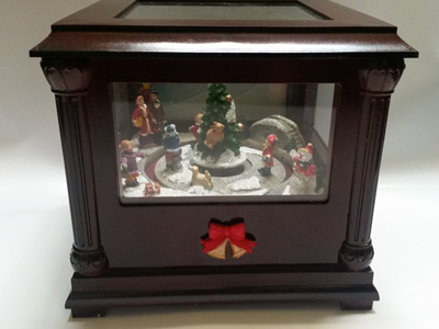 Christmas Music Box with Lights and sound