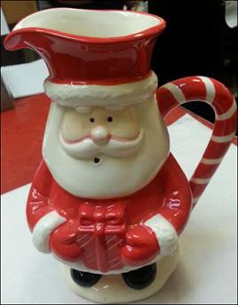 Christmas santa jug