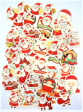 Christmas Santa Stickers