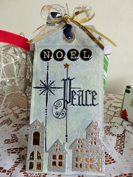 Christmas Tag - Noel Peace