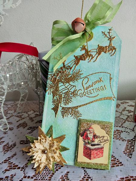 Christmas Tag - Season Greetings