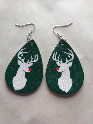 Christmas Teardrop Earrings Style 5